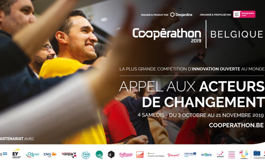 Coopérathon – Wap's hub – 3/10 au 21/11