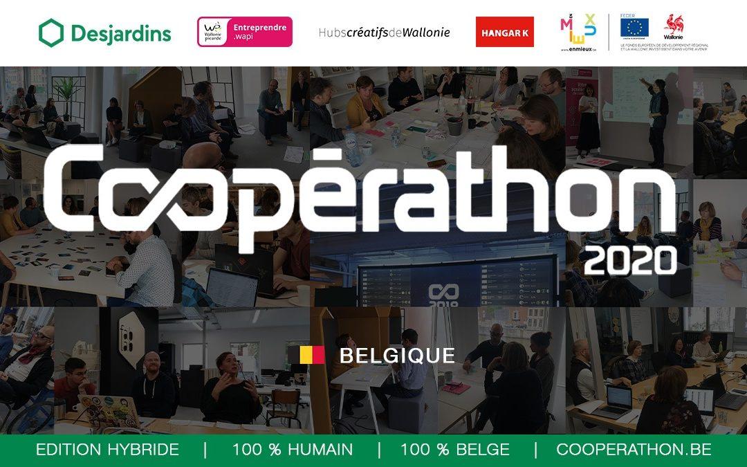 LE COOPÉRATHON BELGIQUE 2020